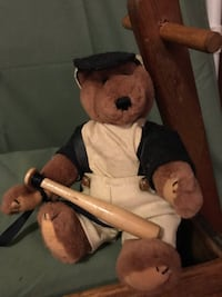 NEW Collectible Retired Boyd's 6 Inch Fully Jointed Stuffed Bear Lou Beatrix (Gehrig) Colorado Springs, 80920