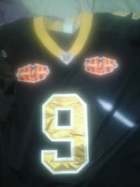 black and yellow NFL jersey Hahnville, 70057