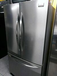silver french-door refrigerator Long Beach, 90805
