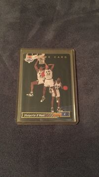 Shaquille O'Neal basketball trading card Stow, 44224