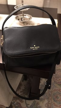 Black kate spade leather crossbody bag Bradford West Gwillimbury, L3Z 0M2