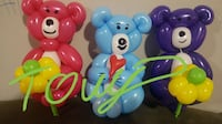 Twisters balloons  Los Angeles