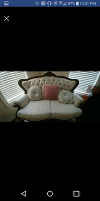 white and brown fabric sofa set Toronto, M3J