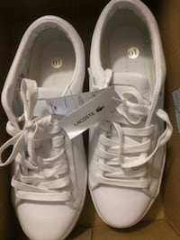 Womens Lacoste Straightset 316 Lace Up White Leather Scarborough, Toronto, ON, Canada