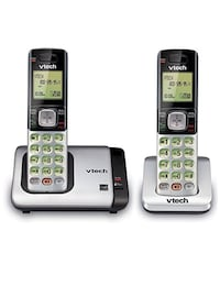 VTech CS6719-2 2-Handset Expandable Cordless Phone with Caller ID/Call Waiting, Handset Intercom & Backlit Display/Keypad Ellicott City, 21042