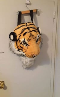 Big 3D tiger head backpack! Toronto, M1E 2N1