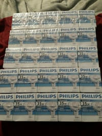 5 packs of 35w Bulbs Fairfax, 22032