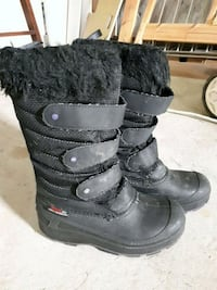 pair of black kid boots Dollard-Des Ormeaux, H9G 1H1