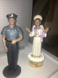 police and angel ceramic figurines Toronto
