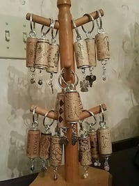 Wine cork keychains HOLIDAY GIFTS!