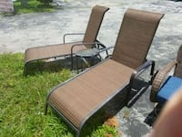 Two Adjustable loungers  Delray Beach, 33483
