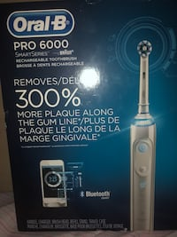 Brand new oral b 6000 electronic toothbrush retail is $220 Winnipeg, R3Y