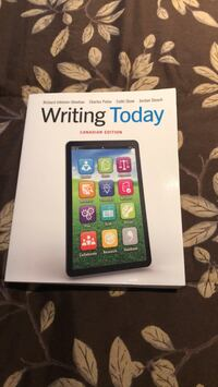 Collage text book. Writing today bought in 2018 brand new Brampton, L7A 2W2