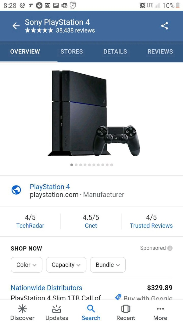 Ps4 and joystick