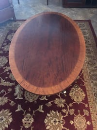 Ethan Allen wood coffee table