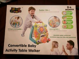 Baby walker and table toy