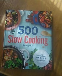 500 Slow Cooking Recipes book