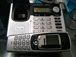 Unidan cordless digital phone with voicemail