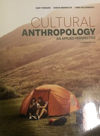 Cultural Anthropology textbook - Langara College VANCOUVER
