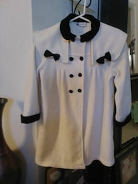Vintage Double Breasted Coat with Black Bows Mesa, 85206
