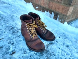 Red Wing Heritage Iron Rangers (size 8 used)