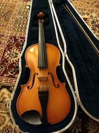 Violin with case: 1/2 size Silver Spring, 20904