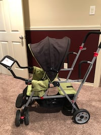 Baby's black and green stroller College Station, 77840