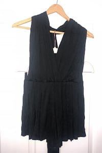 Black Wrap Playsuit - New With Tags - Australia Size 8 Barrie, L4N 8W3
