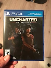 Uncharted The Nathan Drake Collection PS4 game case Kelowna, V1X 1X1