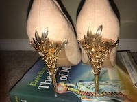 Blush and gold high heels Decatur, 30032