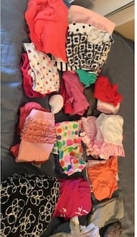 Girl clothing 3-6 months