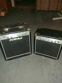 2 First Act Bass & Guitar Amps Tallahassee