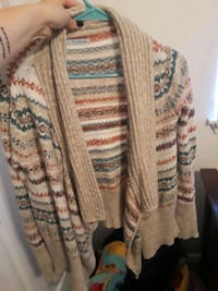 brown and white floral cardigan Nampa, 83686