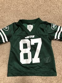 Size 2T Jets Decker Jersey  Hasbrouck Heights, 07604
