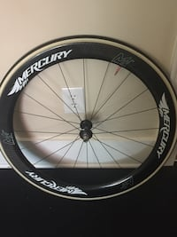Carbon track front wheel