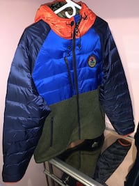 POLO SPORTSMAN Mixed Media Puffer