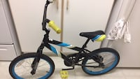 Black and blue hardtail mountain bike Mississauga, L5M 5P8