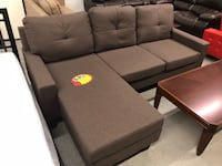 Brand new brown fabric sectional sofa warehouse sale  多伦多, M1T 1B8