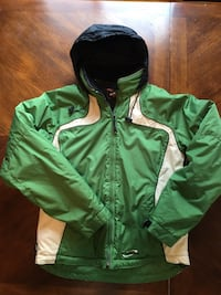 Obermeyer Jacket Junior Size 18 Ski Snowboard Hooded Weather X System