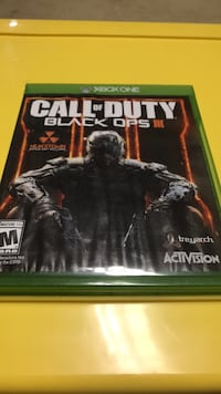 Call of Duty Black Ops 3 Xbox 360 game case Fairfax Station, 22039