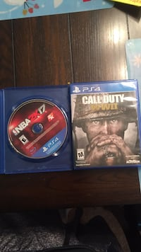 Ps4 call of duty wwii disc Hagerstown, 21740