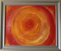 Original Oil painting on canvas, abstract, signed, Russian Artist S.Graff Framingham