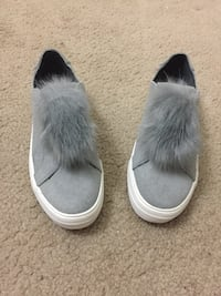 Candies gray Pom Pom shoes Lorton, 22079