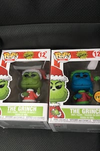 LIMITED EDITION Pop Funko Grinch Figurines both for 40 one for 25 Richmond, V7C 1V2