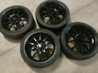 Rims 17 with tires Toronto, M9M 0A3