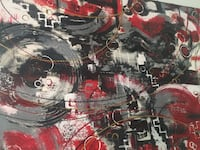 Beautiful abstract large painting Brampton, L6Y