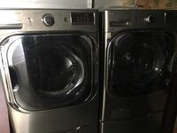 Silver LG washer and dryer set on my built in foot with drawer. Applegate, 95703