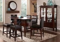 Brown wooden table and chairs  Lewisville, 75067