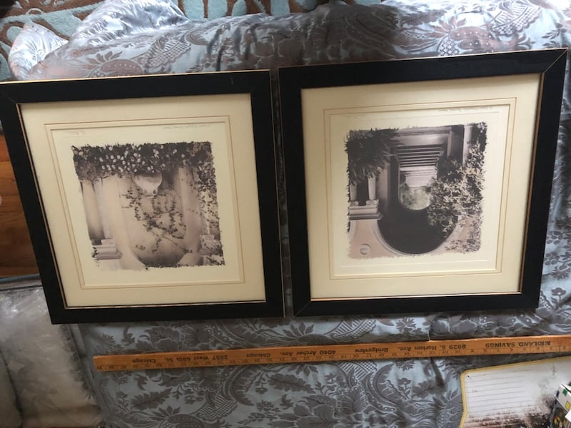 2 black & white Provence France pictures Alan Blaustein 0