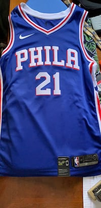 Joel Embiid jersey new wih tags  still on price is negotiable Newark, 19711